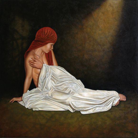 Horacio Cardozo pinturas mulheres nuas sensuais