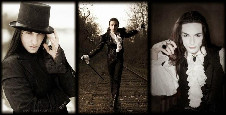 Victorian Goth MenVictorian Goth Men