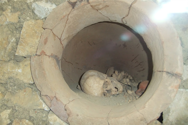Vasijas funerarias - Museo Arqueológico de Antalya