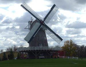 A Windmill In Canada