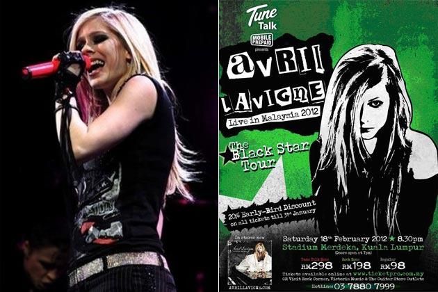 Concert Avril Lavigne Live In Malaysia 2012