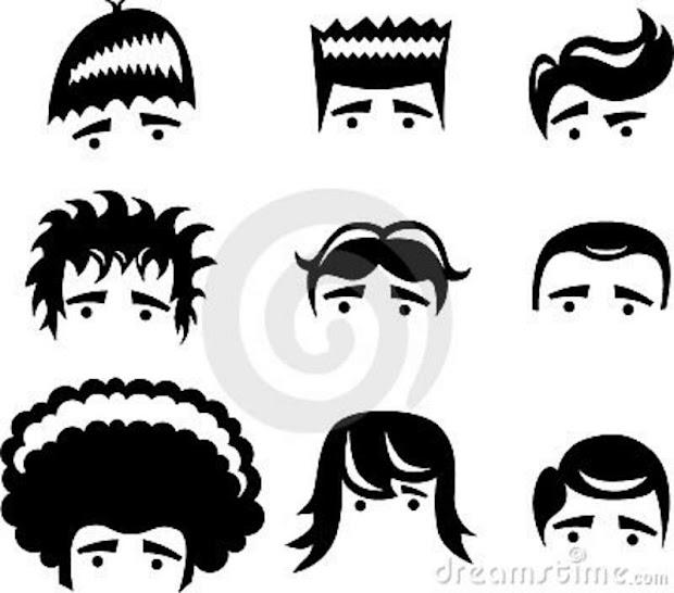 hairstyles cartoon hair color