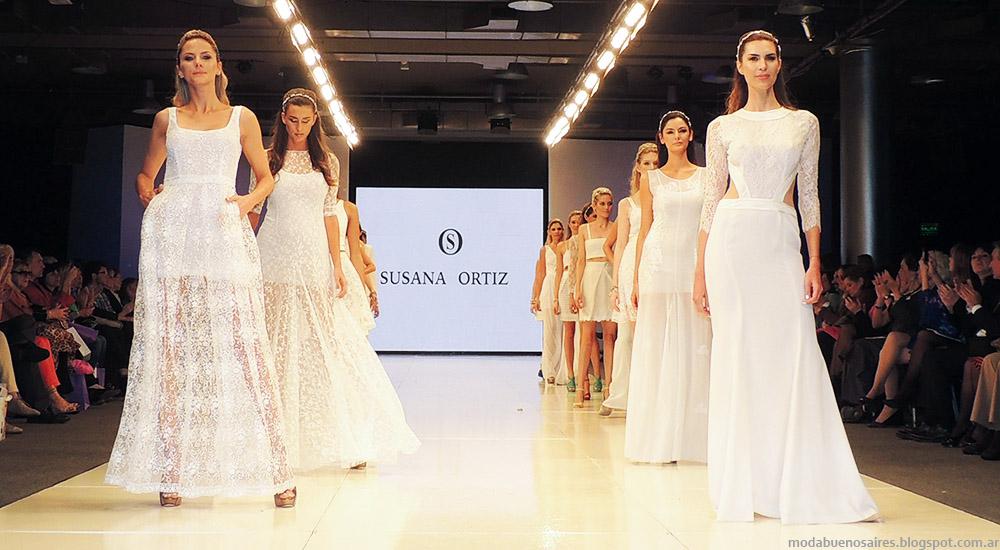 Susana Ortiz primavera verano 2015. Vestidos primavera verano 2015. Moda novias 2015.