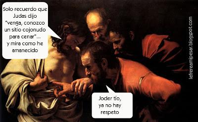 Semana Santa, Caravaggio, MIXING CONMIGO, LIQUITEX