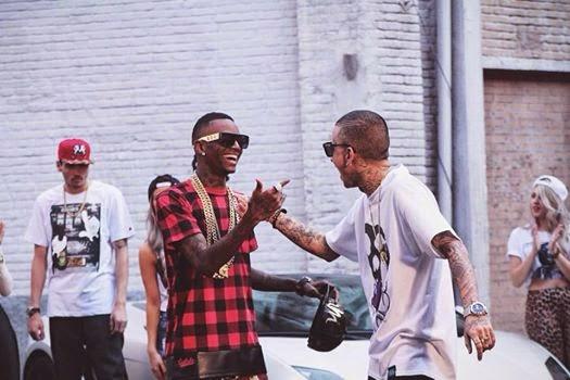 "Soulja Boy participa do novo clipe do MC Guime ""Brazil We Flexing"""