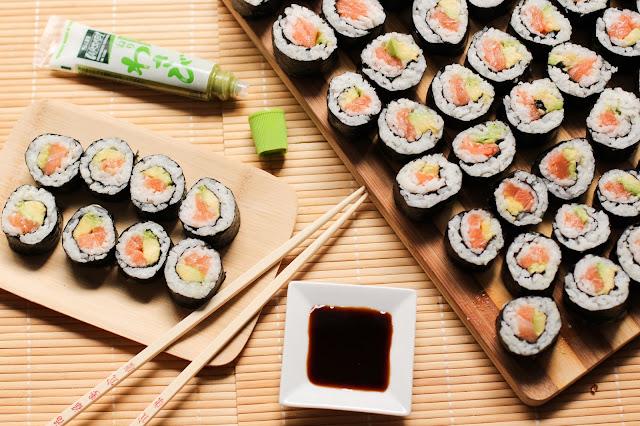receta del sushi
