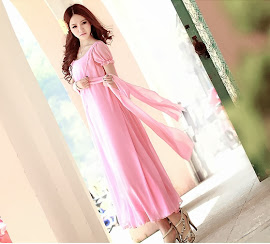 Short Sleeve Irregular Fairy Chiffon Big Yards Midi Dress