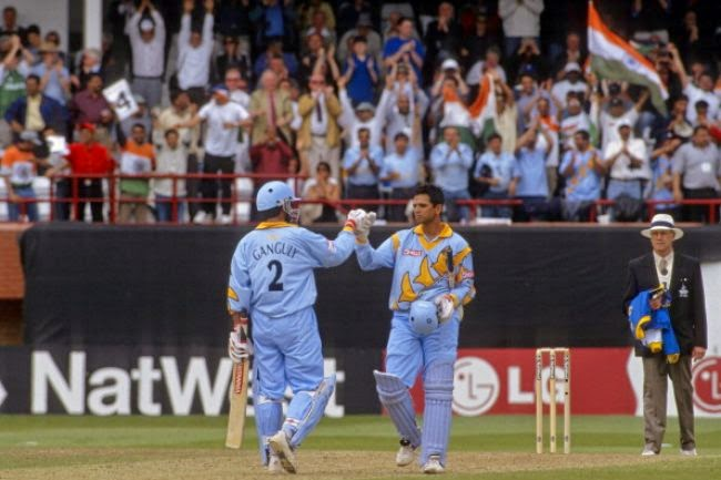dravid ganguly partnership in world cup 1999