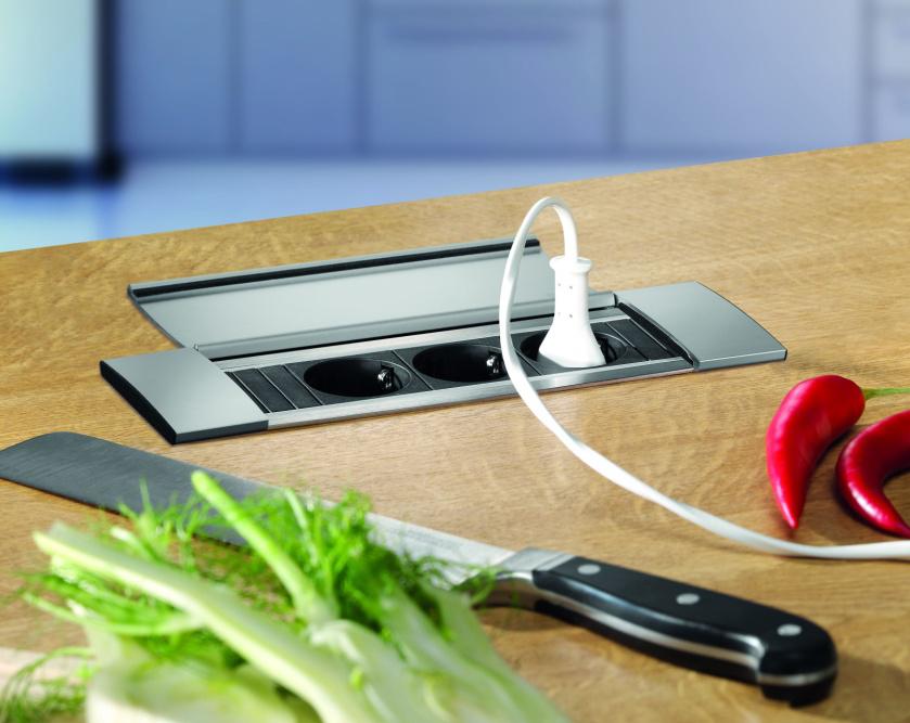 enchufe USB cocina