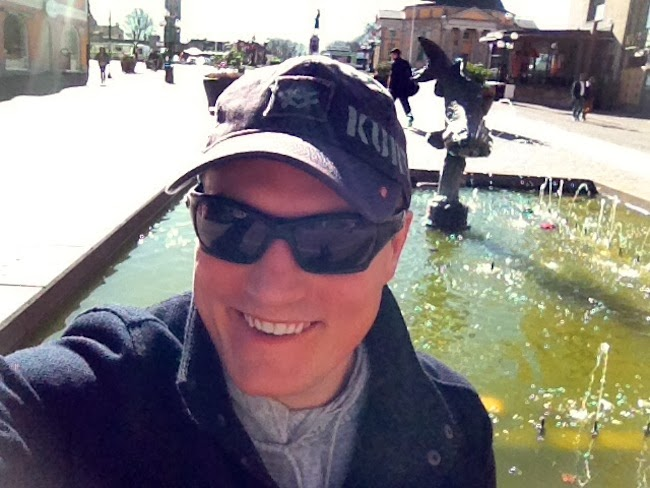 Nick Angell selfie
