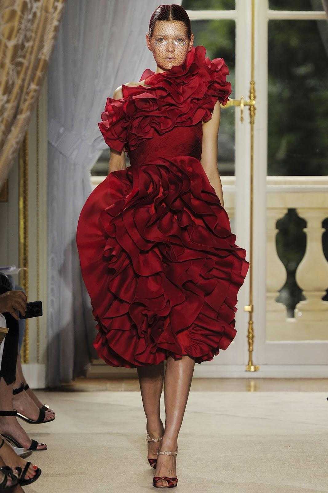 Heart of Gold: Giambattista Valli Fall 2012 Couture