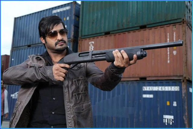 Jr Ntr with gun