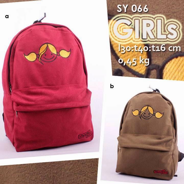 jual online tas ransel beludru murah untuk sekolah anak