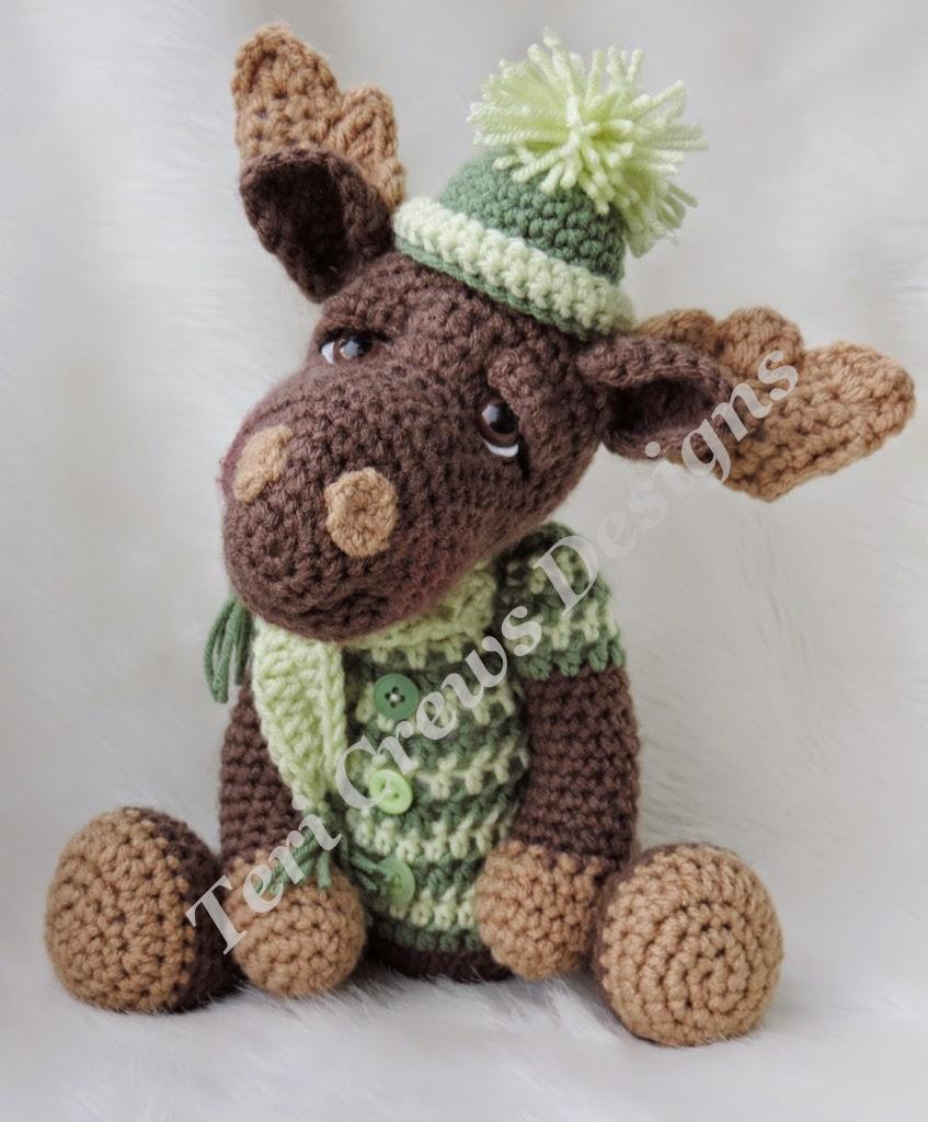 Crochet Baby Moose Hat Pattern Free ~ Dancox for .