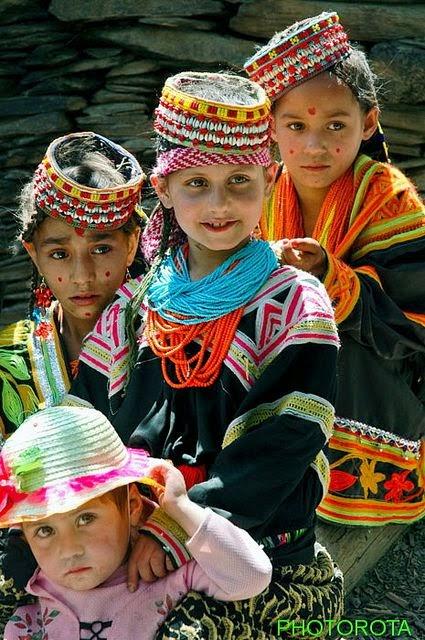 Kalash Girls from Pakistan