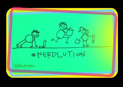 #nerdloution