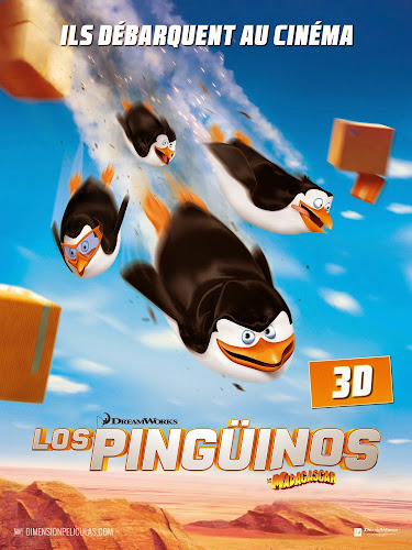 Penguins of Madagascar (BRRip 3D 1080p Dual Latino / Ingles) (2014)