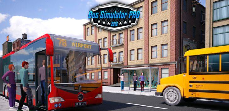Bus Simulator PRO 2016 Android APK Otobüs Simulasyonu - androidliyim.com