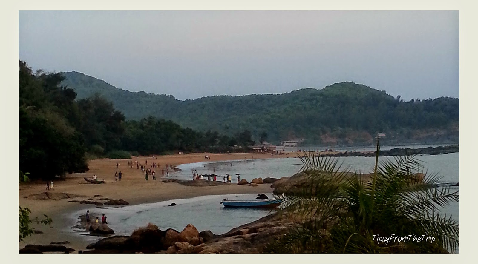 Om Beach, Gokarna.