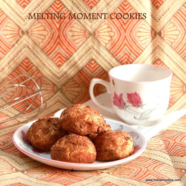 Melting moment cookies Recipe