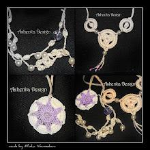 Украшения крючком / Сrocheted jewelry