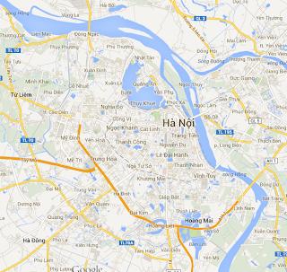 bản đồ Hà Nội, bản đồ hà nội trực tuyến