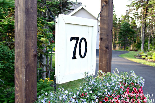 1 pm023 House Number Sign