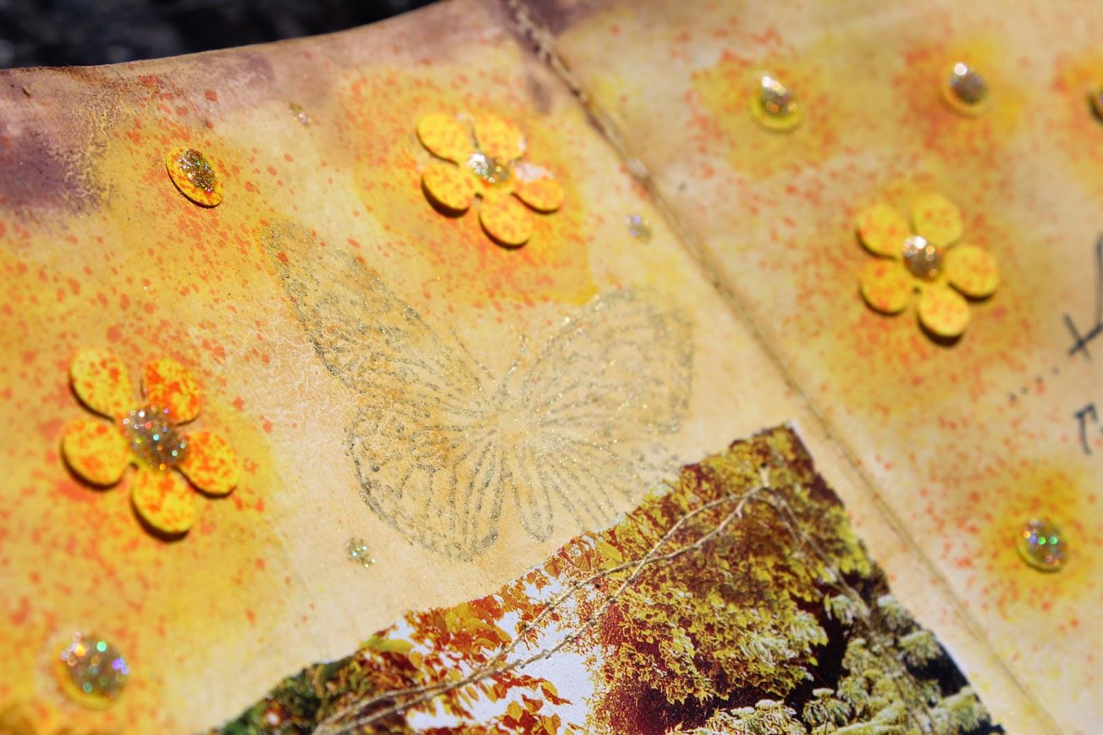 арт-бук, золотой