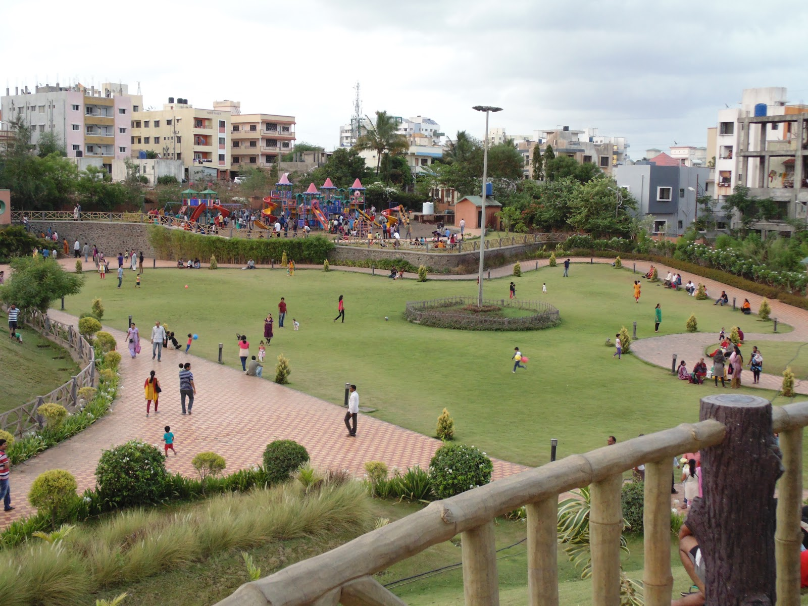 SavitriBai Phule Garden (Udyan) - A nature place for relaxation near pune