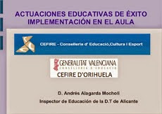 ACTUACIONES EDUCATIVAS DE ÉXITO
