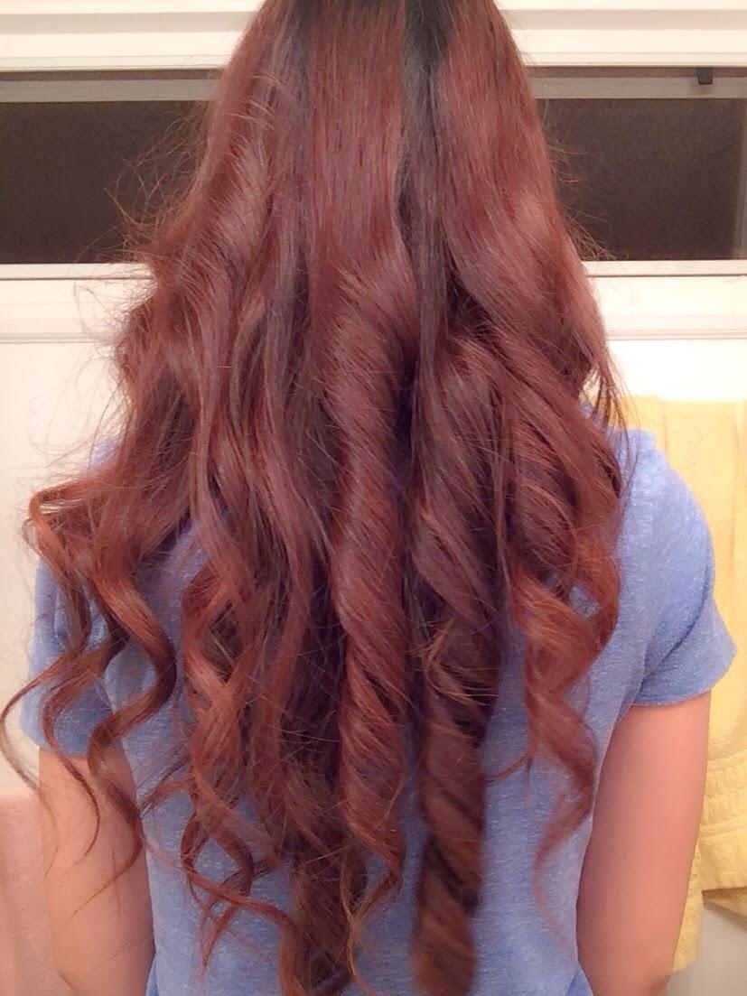 Rose tea brown hair