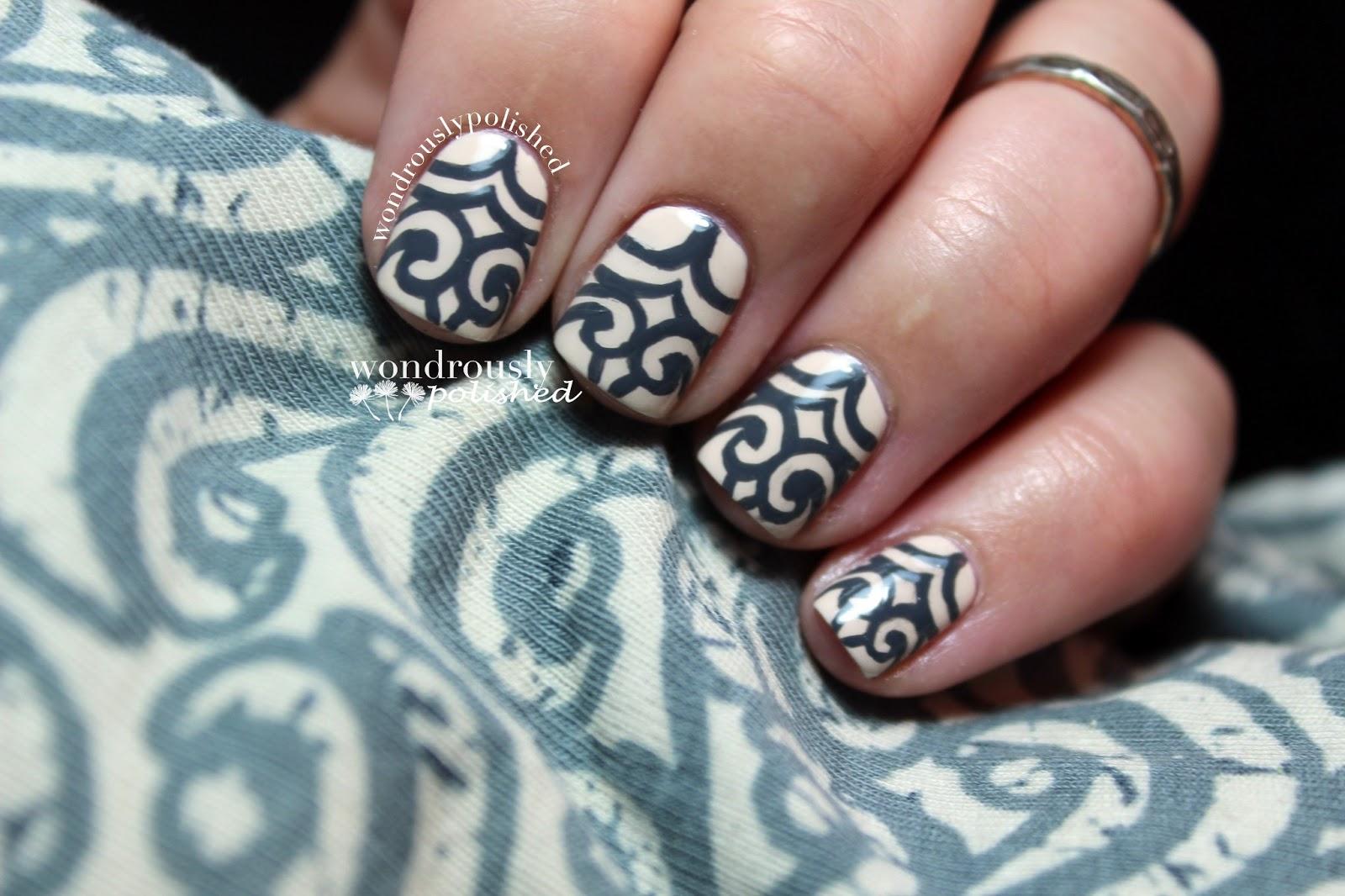 Wondrously Polished April Nail Art Challenge Ootd