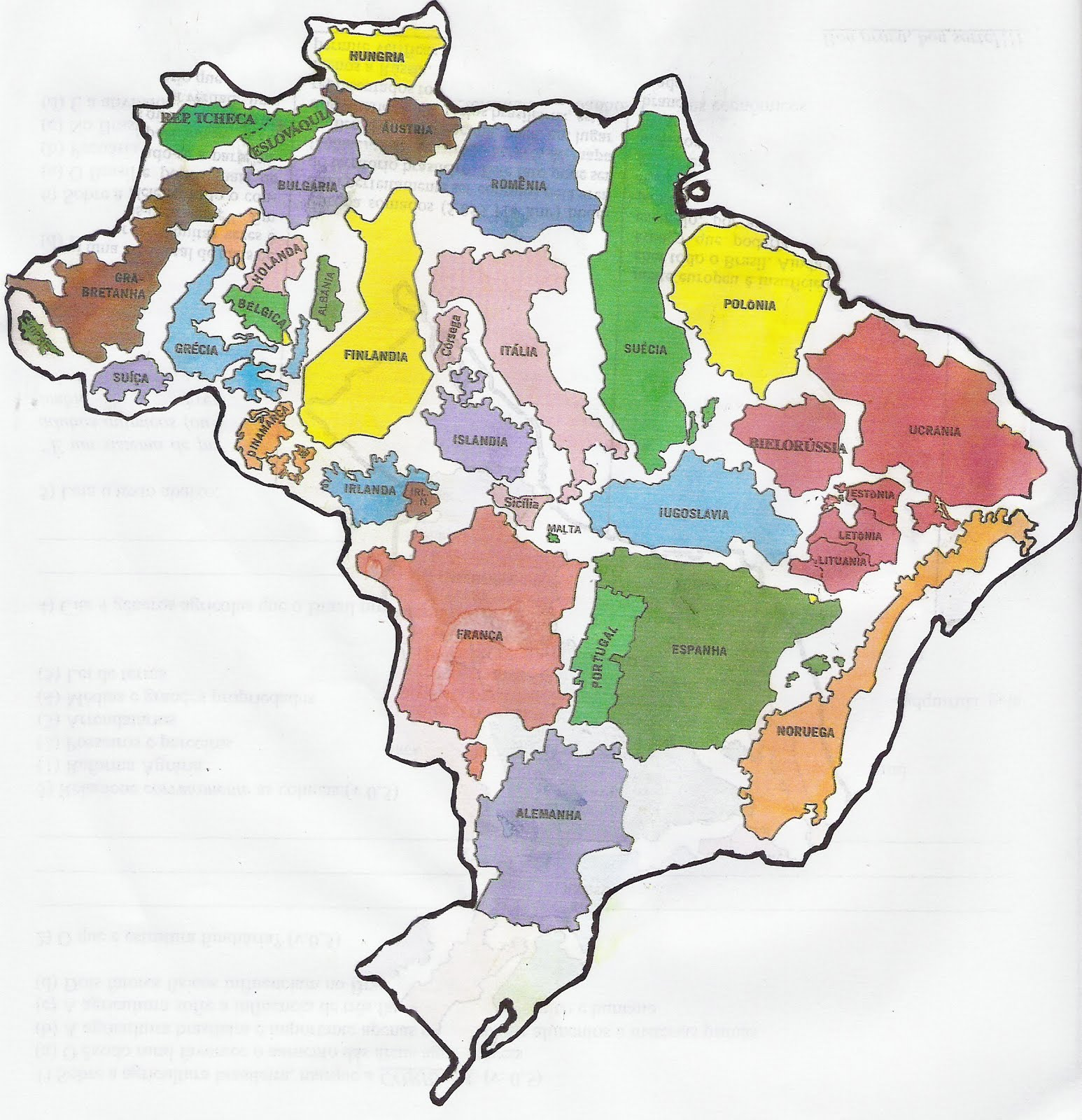 Brazil is not a small country Vivid Maps – Map World Brazil