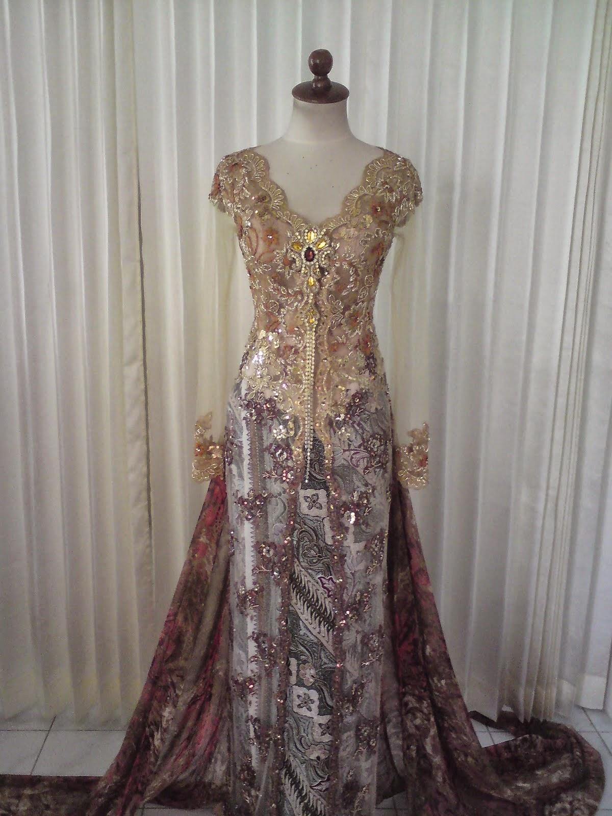 Foto Model Baju Kebaya Dress Modern