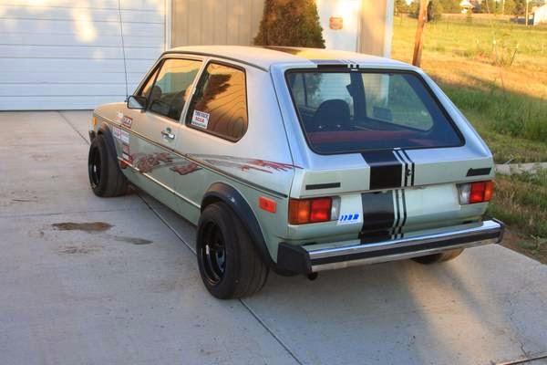 vw rabbit race car buy classic volks