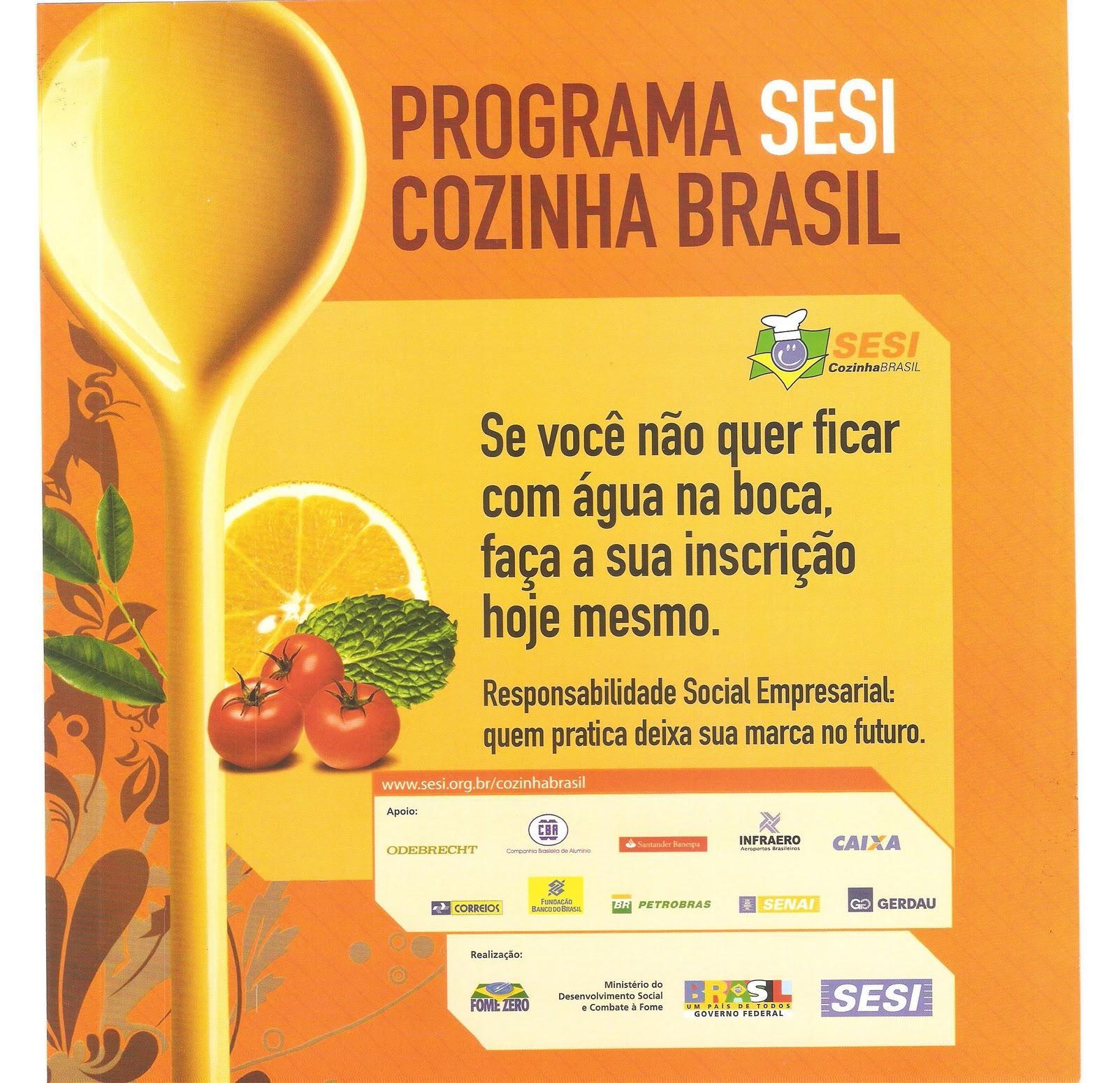 COZINHA BRASIL EM ODB PARTICIPE! #C49707 1600 1549