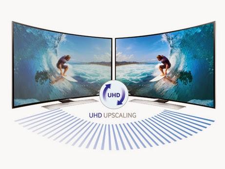 Chế độ UHD Upscaling làm cho hình ảnh HD và Full HD trở nên đẹp hơn hẳn.