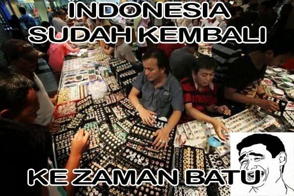 Beberapa trend yang pernah buming di Indonesia