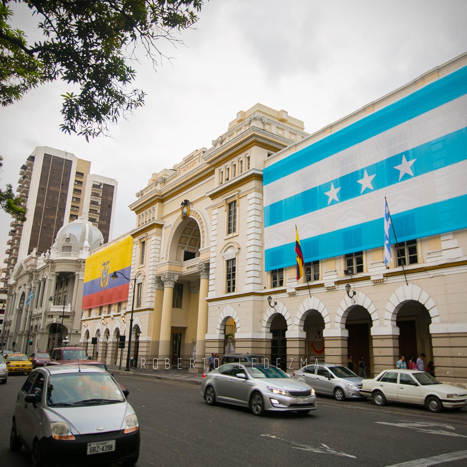 Edificio de la Gobernación del Guayas
