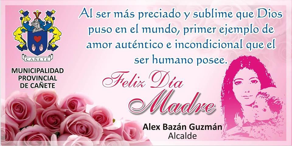 FELIZ DIA DE LA MADRE, ALEX BAZAN
