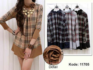 Blus Burberry fit to XL