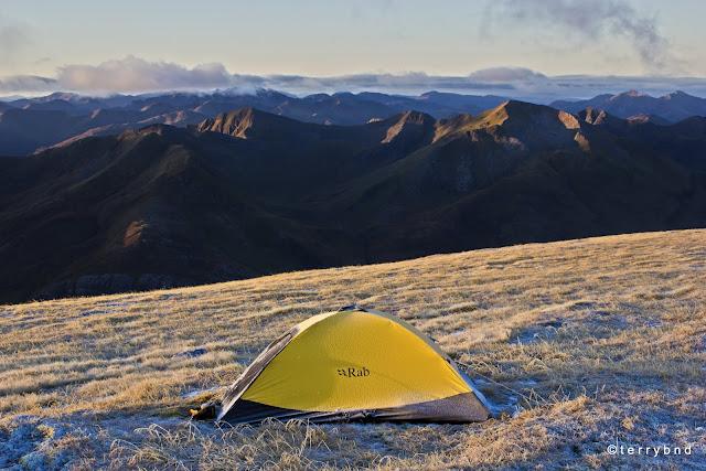 Rab Latok Ultra Bivi, wild camping Scotland