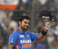 Virat Kohli Height, Weight and Age