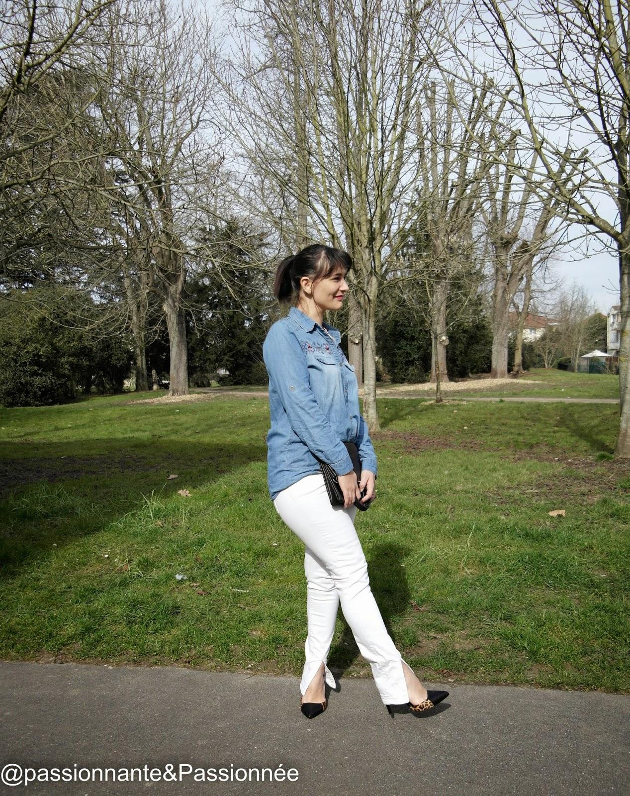 chemise en jean oasap