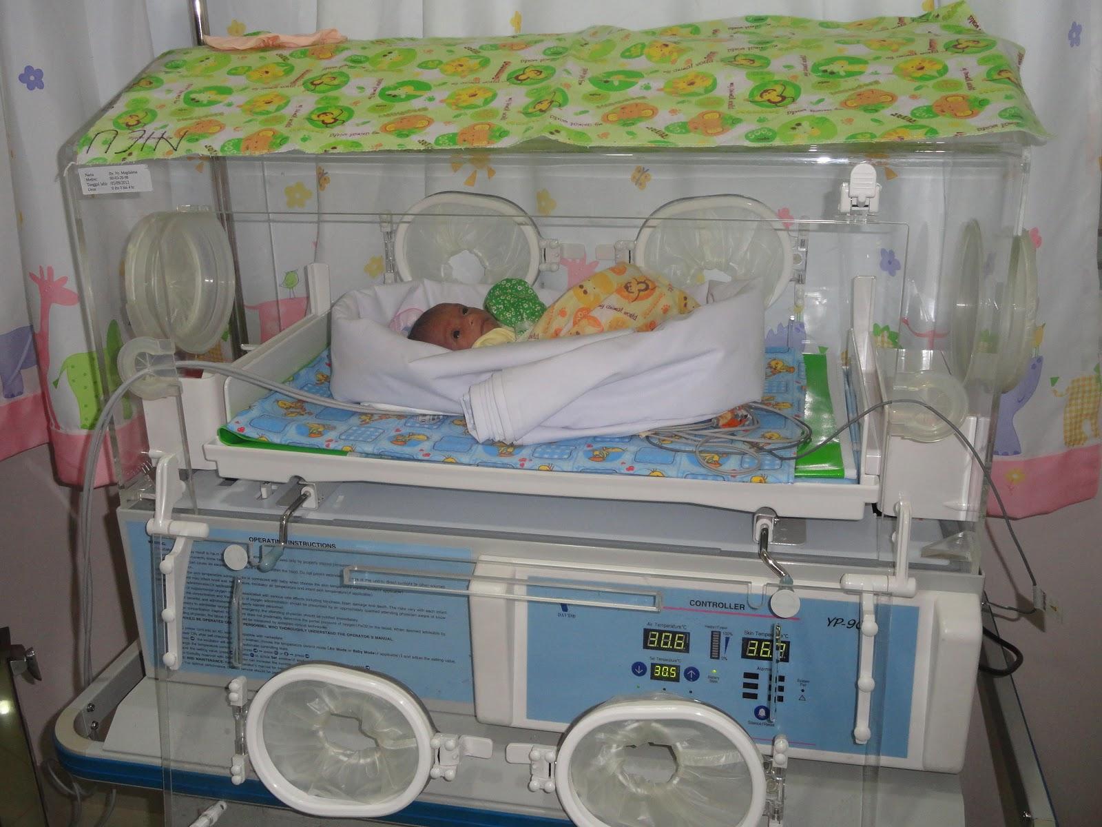 Perawatan Bayi Prematur Menggunakan Inkubator Bayi