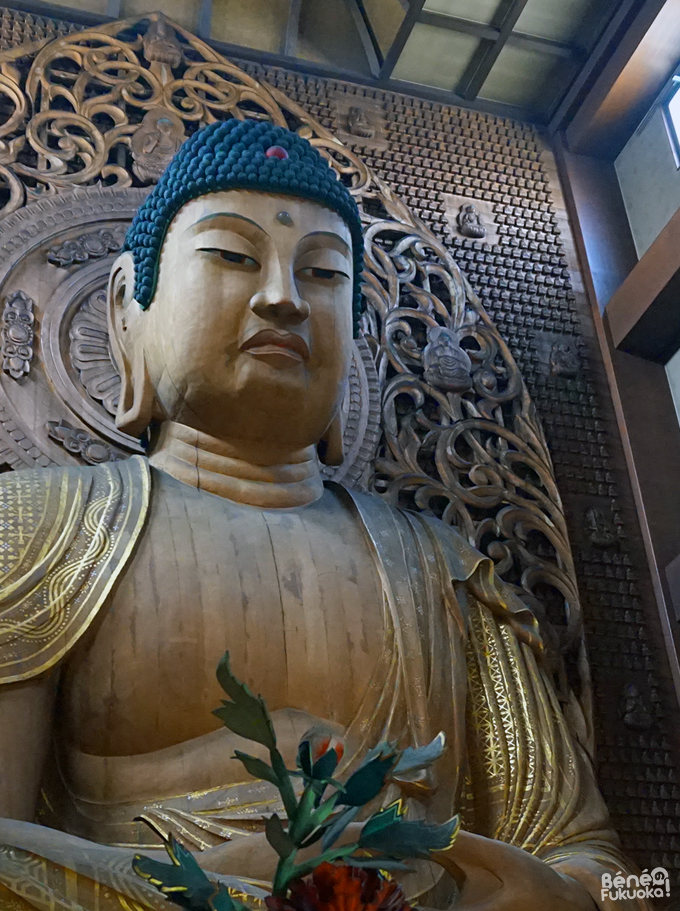 Japan's biggest wooden buddha in Tocho-ji temple / 日本一大きい木で作られている大仏