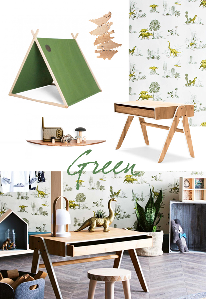 children room with dinosaurs - insideout magazine- styling Phoebe McEvoy photo  photo Sam Mcadam-Cooper