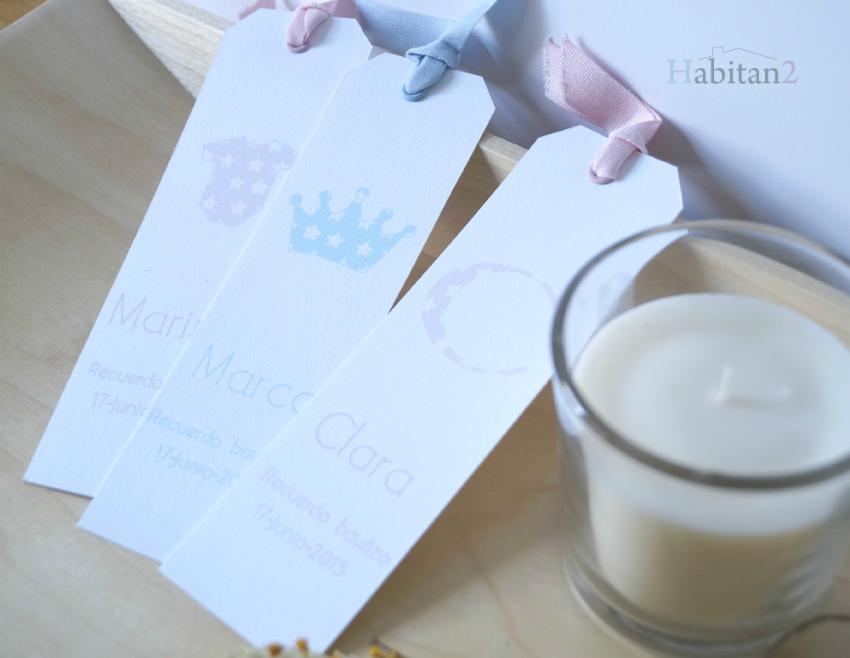 Marcapáginas personalizados para eventos de HABITAN2