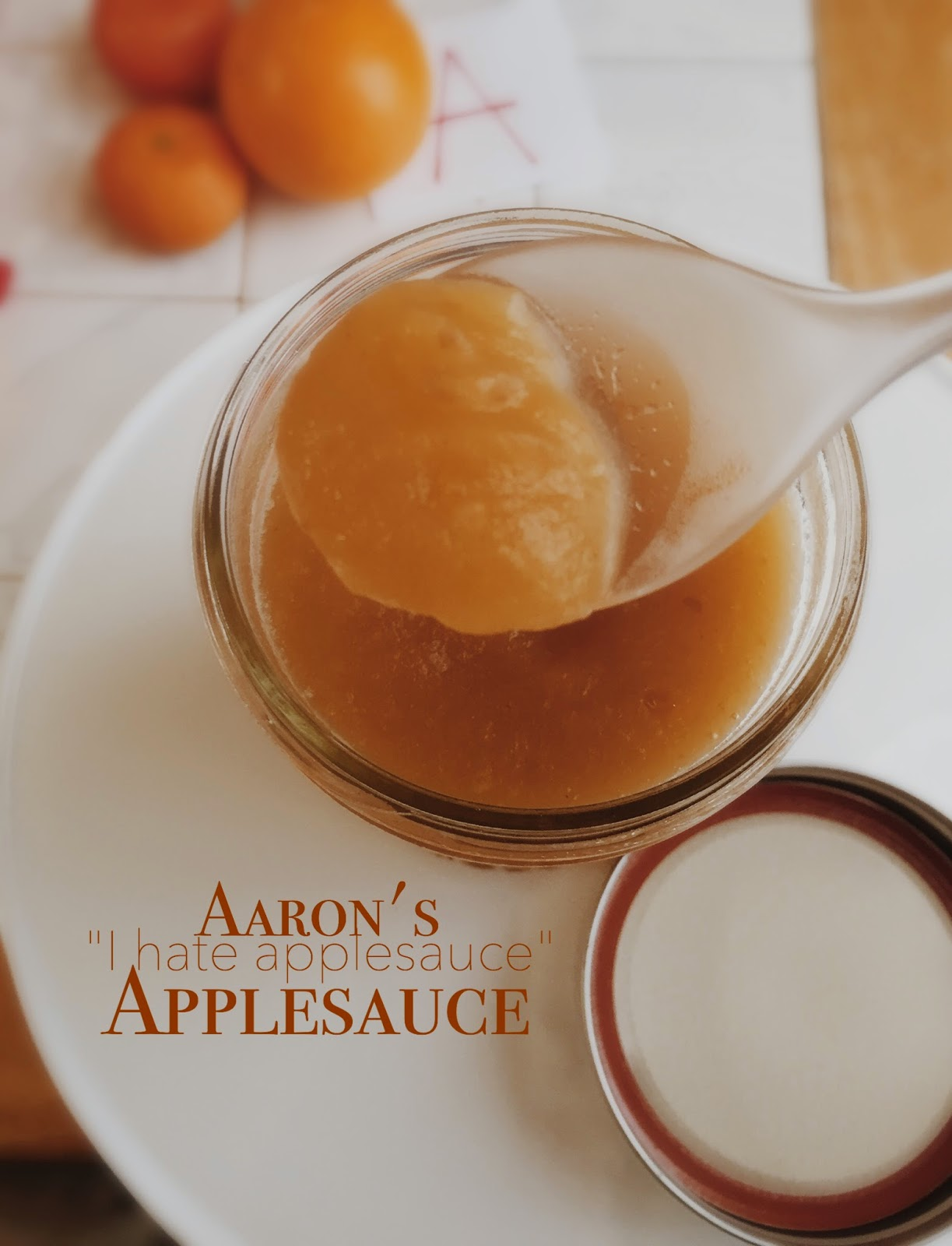 The Walking Dead's Aaron's Applesauce