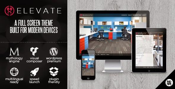 Elevate - Themeforest Full Screen Theme for WordPress